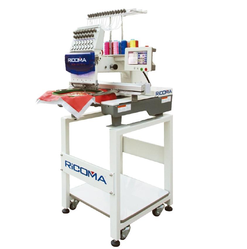 průmyslový vyšívací stroj RCM-0601TC / 6-ti jehlový, dotykový displej