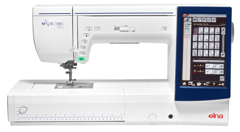 šicí a vyšívací stroj Elna 920 eX + vyšívací software Digitizer Ex Jr. ZDARMA