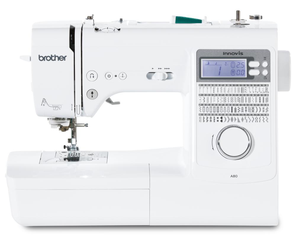 šicí stroj Brother Innov-Is A80 + stolek WT15 ZDARMA