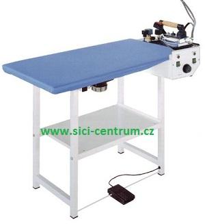 žehlící stůl Futura RC s vyvíječem páry 2l a žehličkou