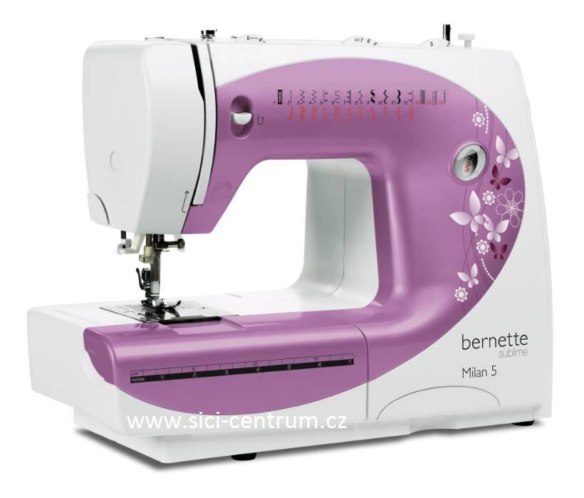 šicí stroj Bernette Milan 5 + dárek