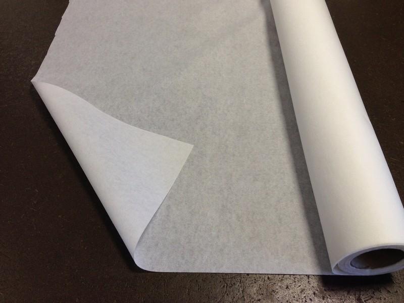 vlizelín nažehlovací silný bílý-šíře 90cm