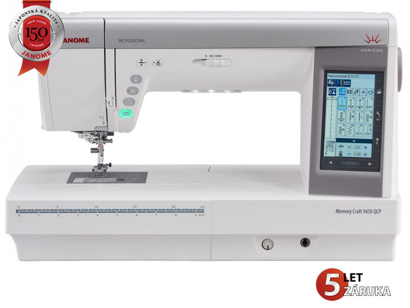 šicí stroj Janome MC 9400 QCP + dárek