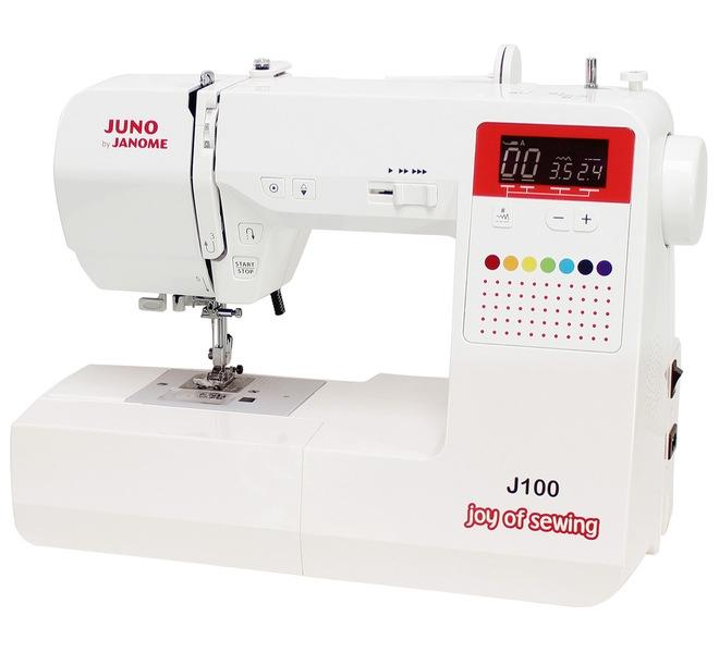 šicí stroj JUNO J100 + sada kvalitních jehel Organ ZDARMA