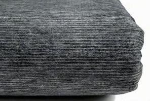 vlizelín 43g/m2-šedivý+bílá osnova