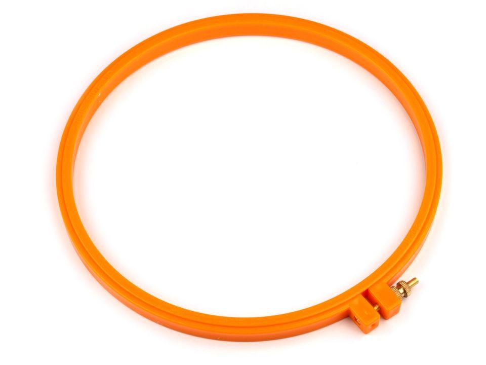 kroužek(rámeček) na vyšívaní plastový kulatý-18cm