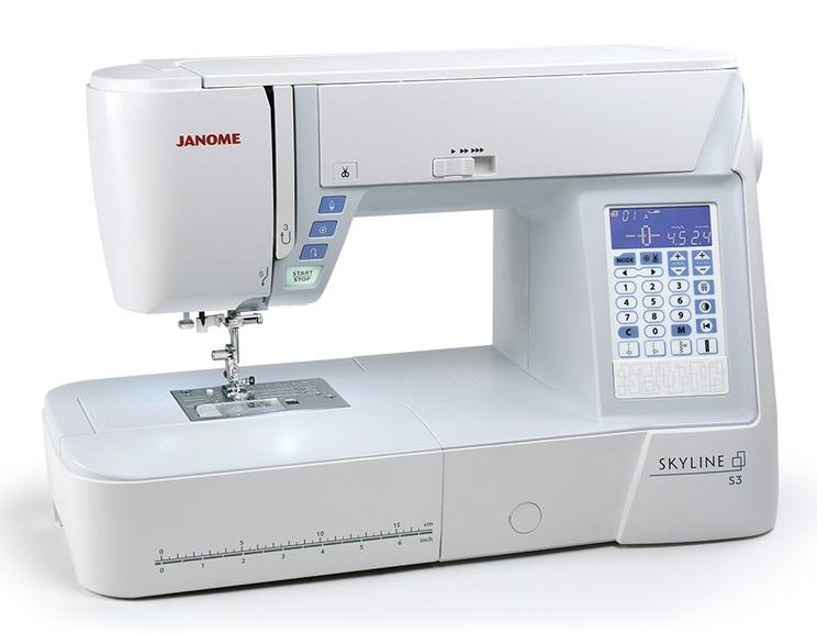 šicí stroj Janome Skyline S3 + dárek