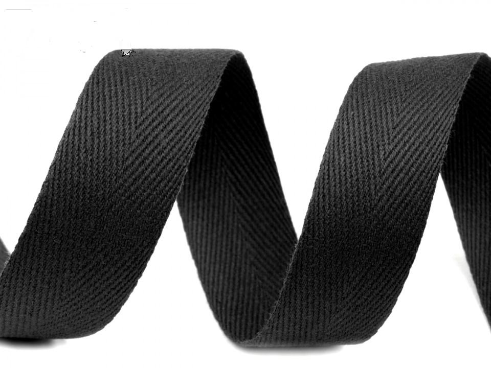 tkaloun keprovka 30mm černá