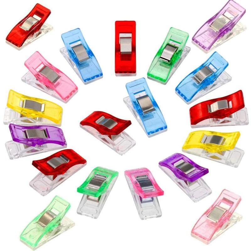 kolíčkové svorky na látku - malé vícebarevné plastové klipsny (žabky) bal.10kS