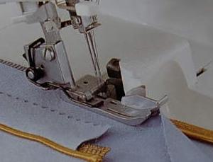 patka pro našívání paspulky
