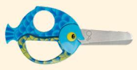 nůžky dětské 130mm special ryba
