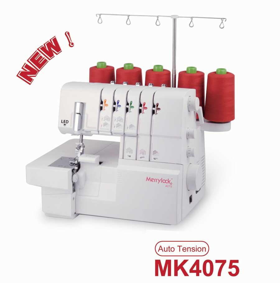 overlock a coverlock Merrylock MK 4075+ sada kvalitních jehel Organ ZDARMA