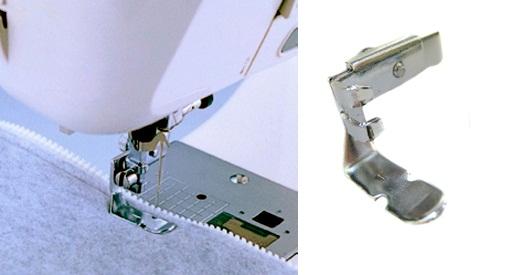 patka na zipy oboustranná BROTHER NF036
