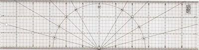 patchworkové pravítko 15x60cm Olfa