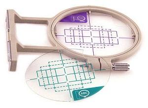 vyšívací rámeček EF82 20x60nebo30x40mm pro F480, F440, NV750,1250