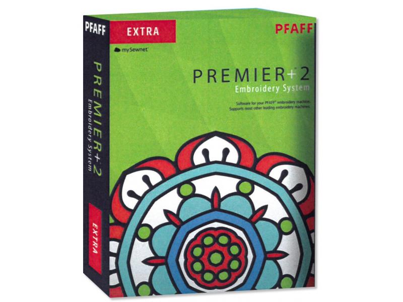 Program pro tvorbu výšivky Premier+ 2 Extra (pro Pfaff, Husqvarna)