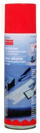 dočasné lepidlo- spray(sublimační)