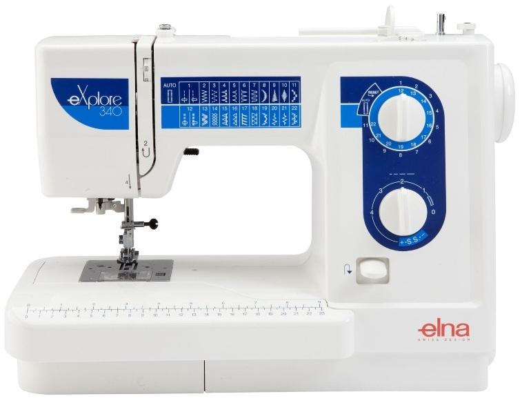 šicí stroj Elna eXplore 340 + dárek