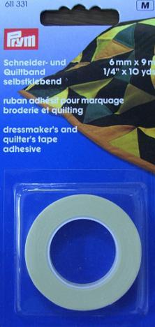 přidržovací lepící pásky 6mmx9m pro quilt PRYM 611331