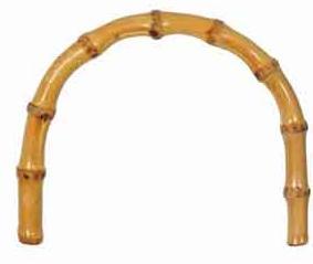 ucha na tašky bambus 2ks