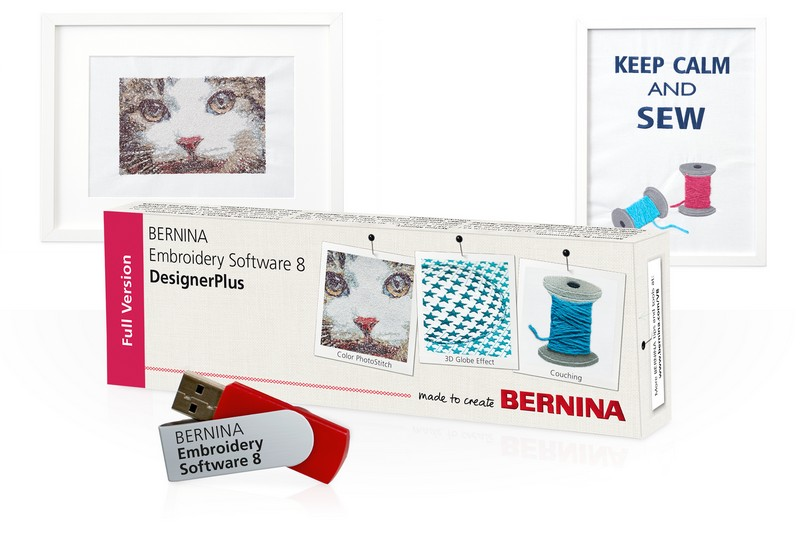 vyšívací software Bernina Designer Plus 8