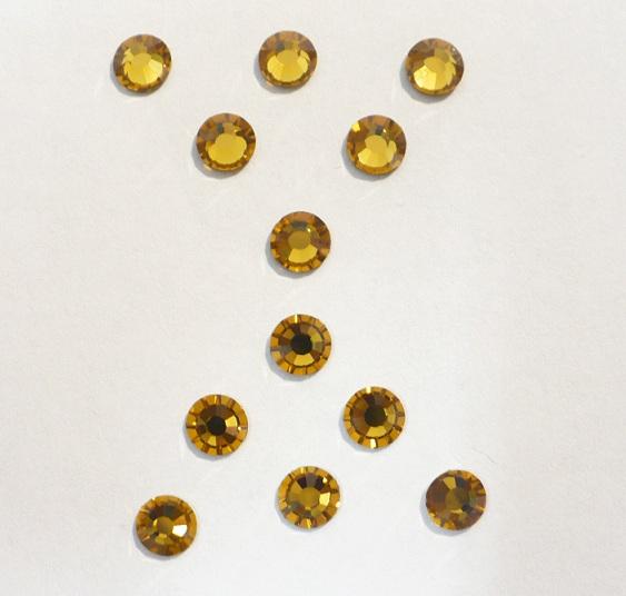 5mm kameny broušené barevné nažehlovací