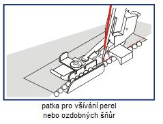 patka pro všívání perel/ozdob Gritzner 788, Profilock 800