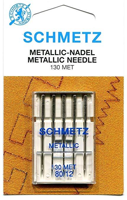 jehla vyšívací na kovové nitě 130/705H-80 Schmetz