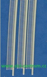 Microsplinty 4,9mm - bílé - 960ks