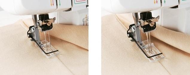 dvojice průhledných patek pro ozdobné šití pro Brother M2340-1