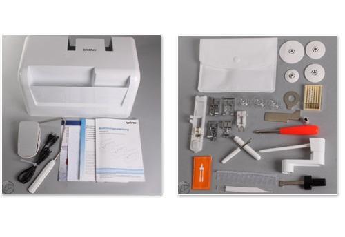 šicí stroj Brother NV 1100 + přídavný stolek za 1660Kč ZDARMA-1