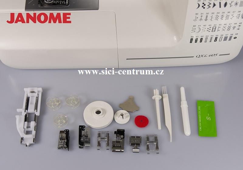 šicí stroj Janome 605 QXL  + sada kvalitních jehel Organ ZDARMA-1