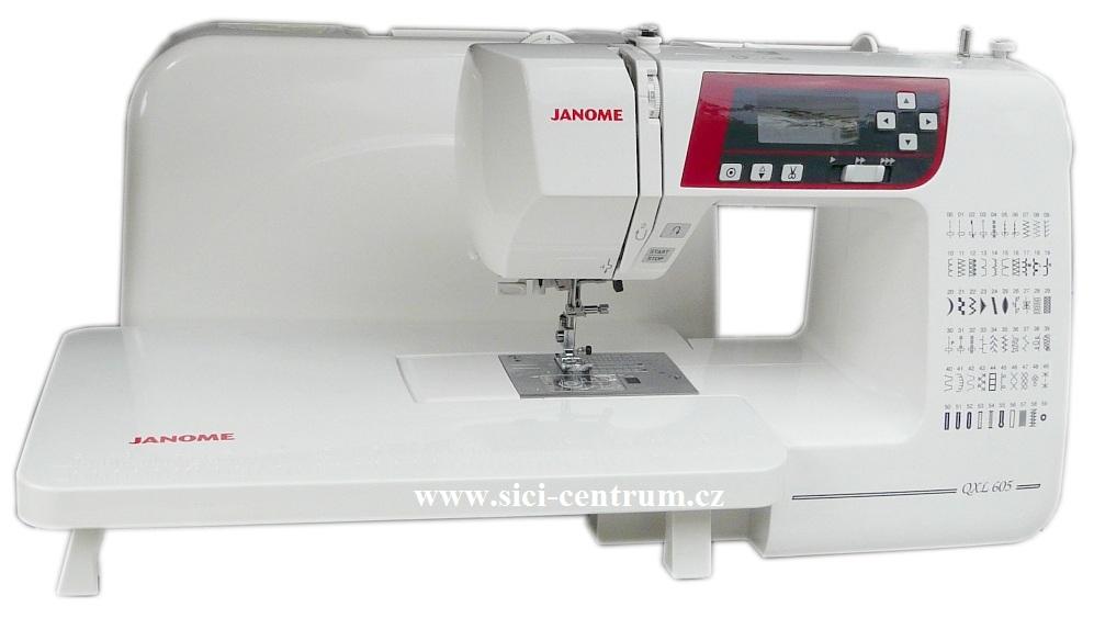 šicí stroj Janome 605 QXL + přídavný stolek-2