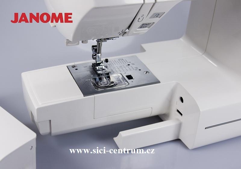 šicí stroj Janome 605 QXL + přídavný stolek-3
