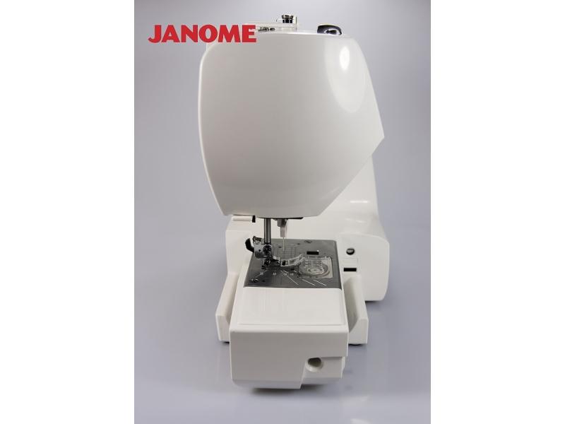 šicí stroj Janome 605 QXL + přídavný stolek-5