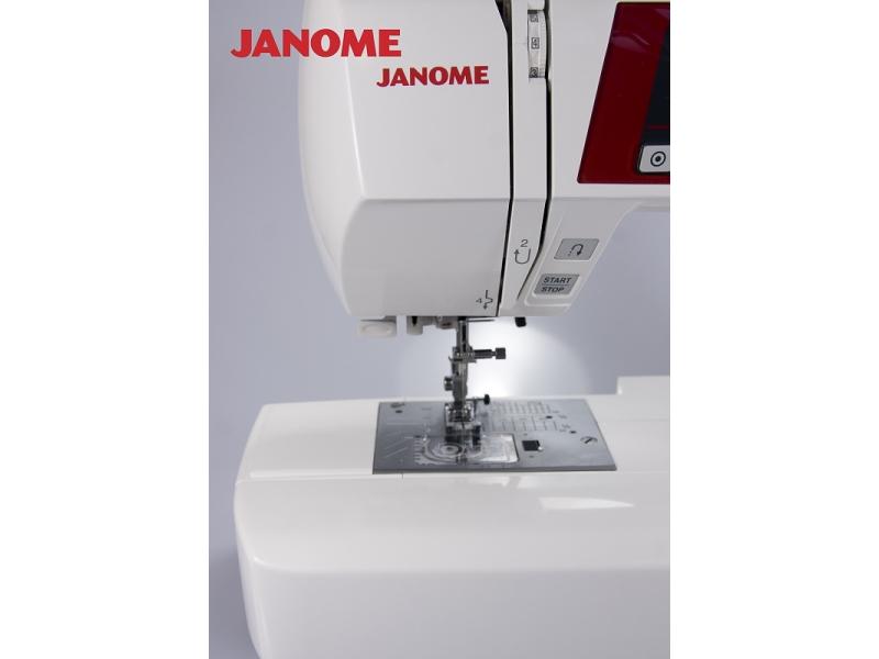 šicí stroj Janome 605 QXL + přídavný stolek-7