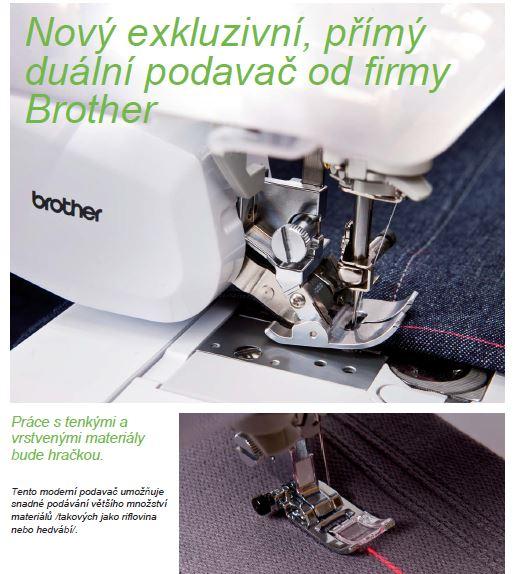 šicí a vyšívací stroj Brother INNOV-IS V7 + osobní dovoz a zaškolení ZDARMA-8