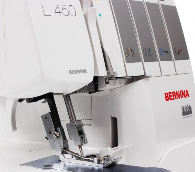 overlock Bernina L450  + sada kvalitních jehel Organ ZDARMA -2