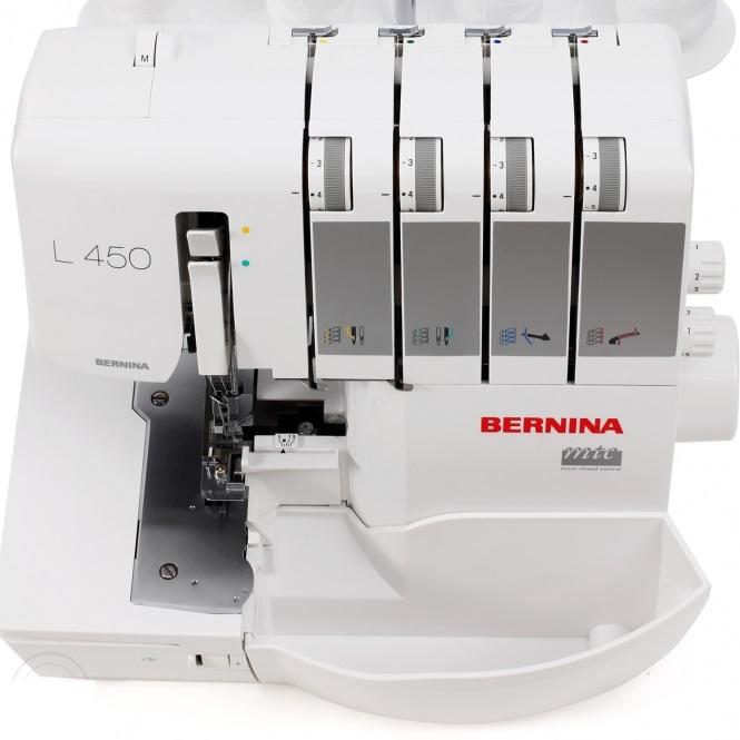 overlock Bernina L450  + sada kvalitních jehel Organ ZDARMA -4