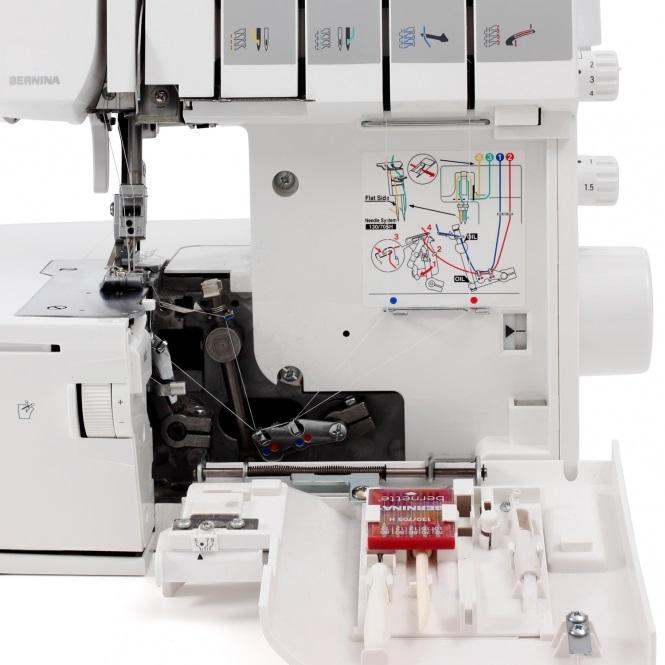 overlock Bernina L450  + sada kvalitních jehel Organ ZDARMA -5