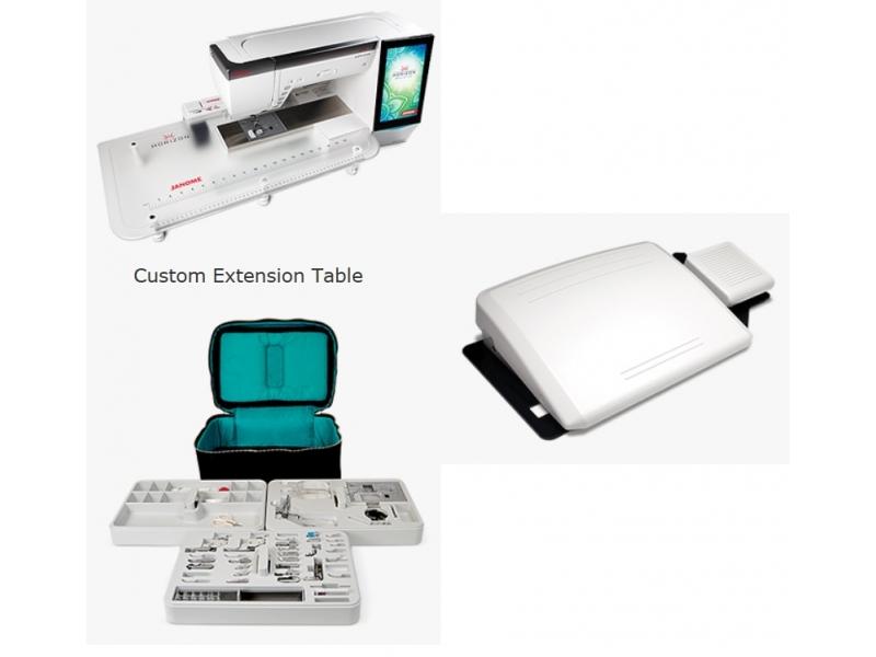 šicí a vyšívací stroj Janome Memory Craft 15000-2