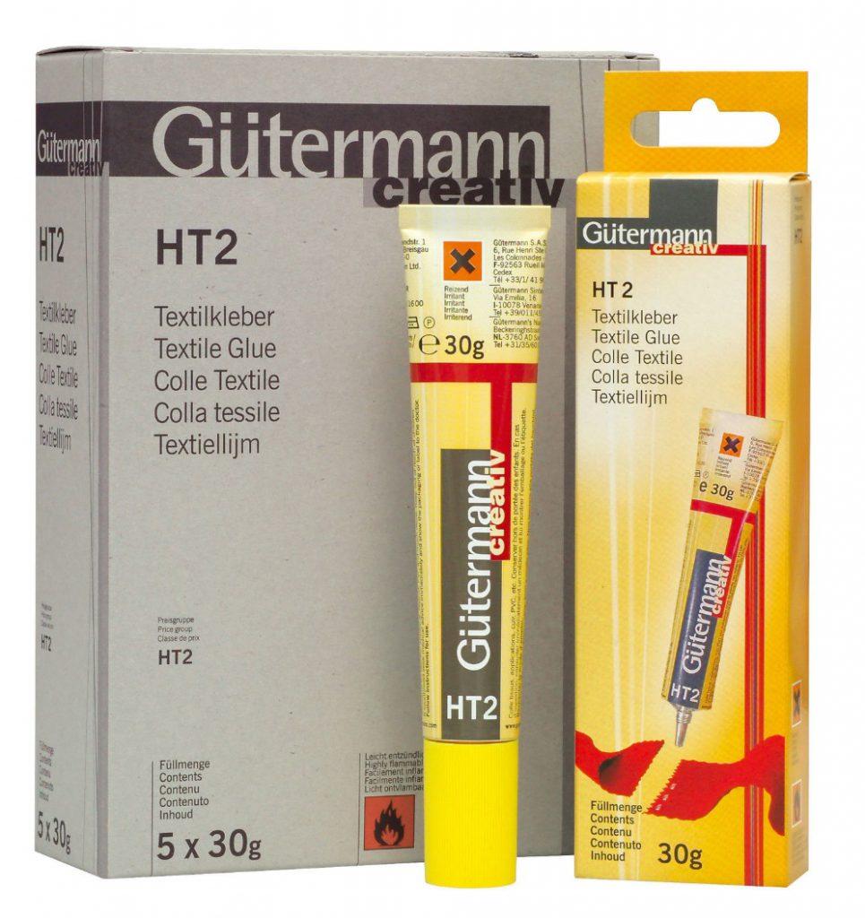 lepidlo HT2 Gütermann na textil 30g (žluté balení)-1
