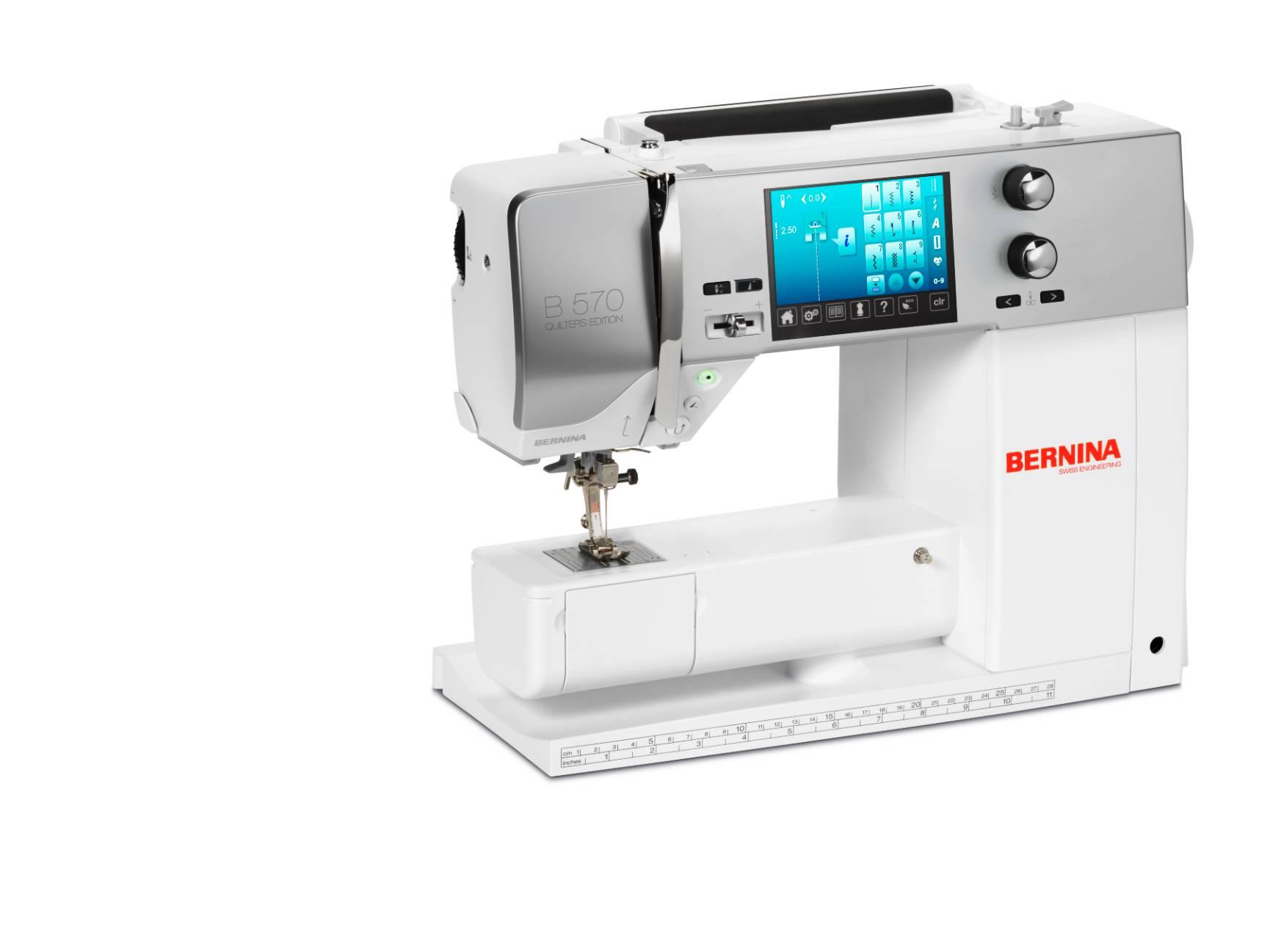 šicí a vyšívací stroj Bernina 570 EE + záruka 5 let-1
