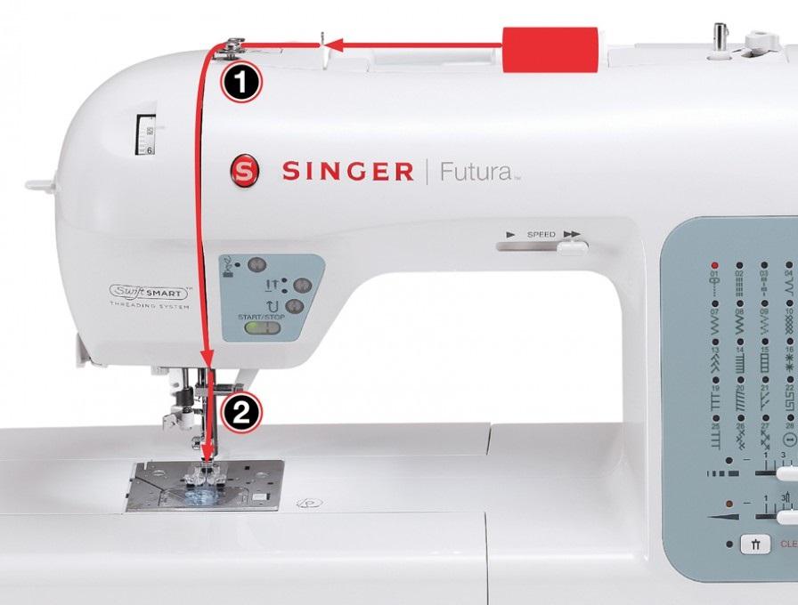 šicí a vyšívací stroj Singer XL-420 + dárek-3