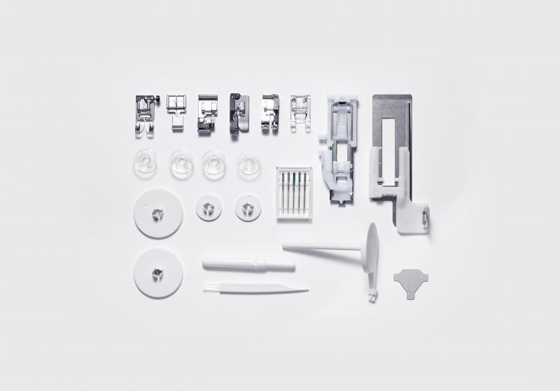šicí stroj Elna eXperience 550  + sada kvalitních jehel Organ ZDARMA -5
