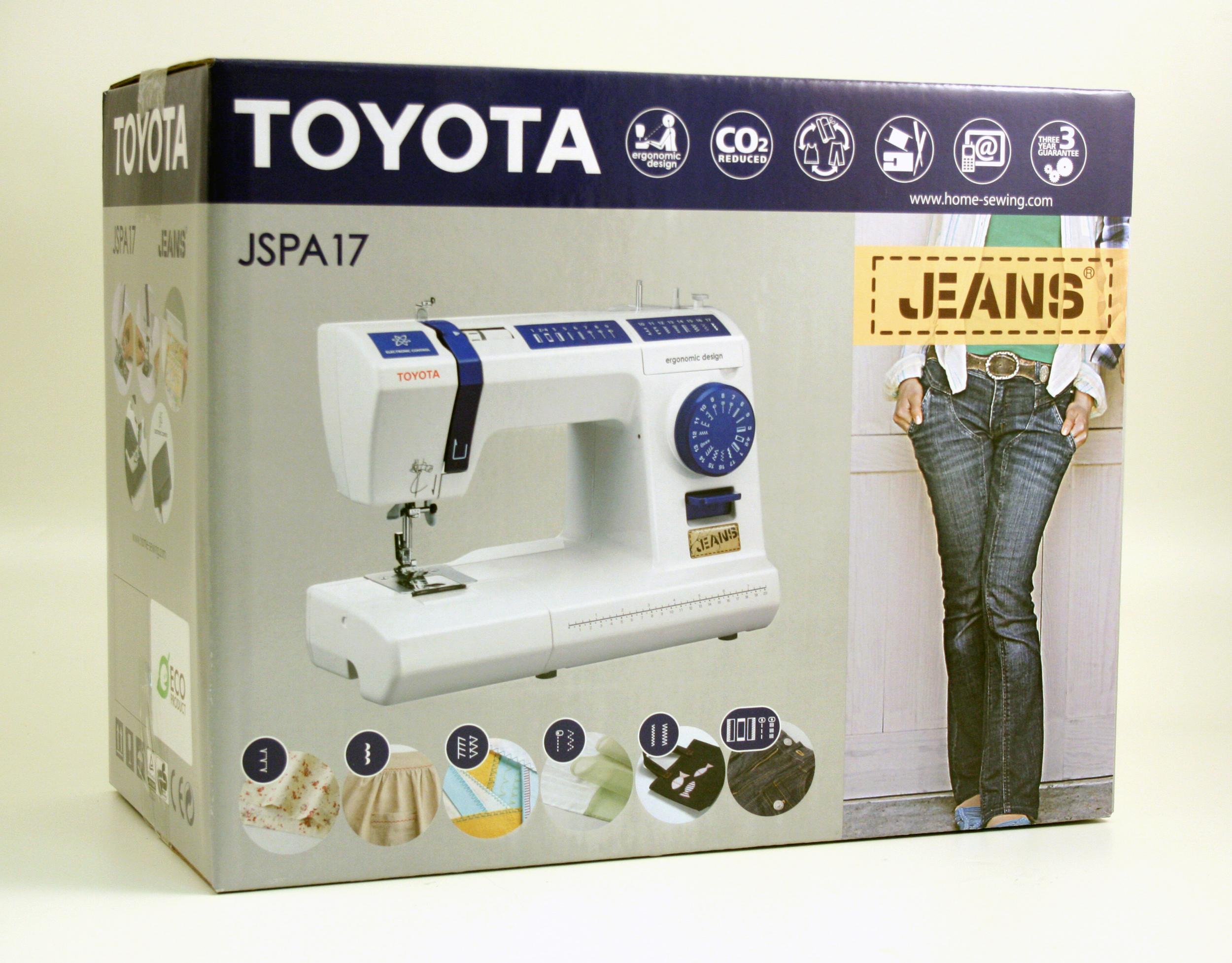 šicí stroj Toyota JSPA17-7