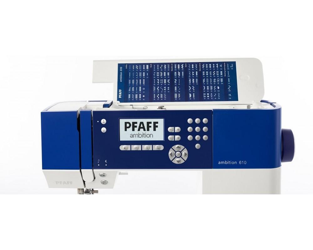 šicí stroj Pfaff Ambition 610 Quilt-3