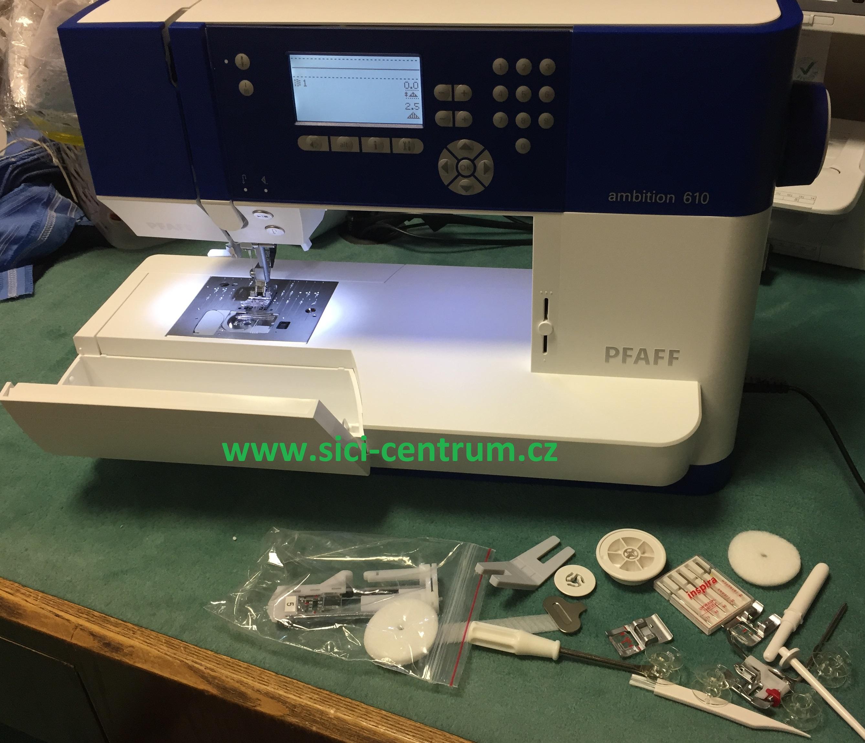 šicí stroj Pfaff Ambition 610 Quilt-8
