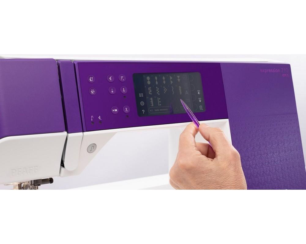šicí stroj Pfaff Expression 710 + sada kvalitních jehel Organ a 3 roky záruka ¸-2