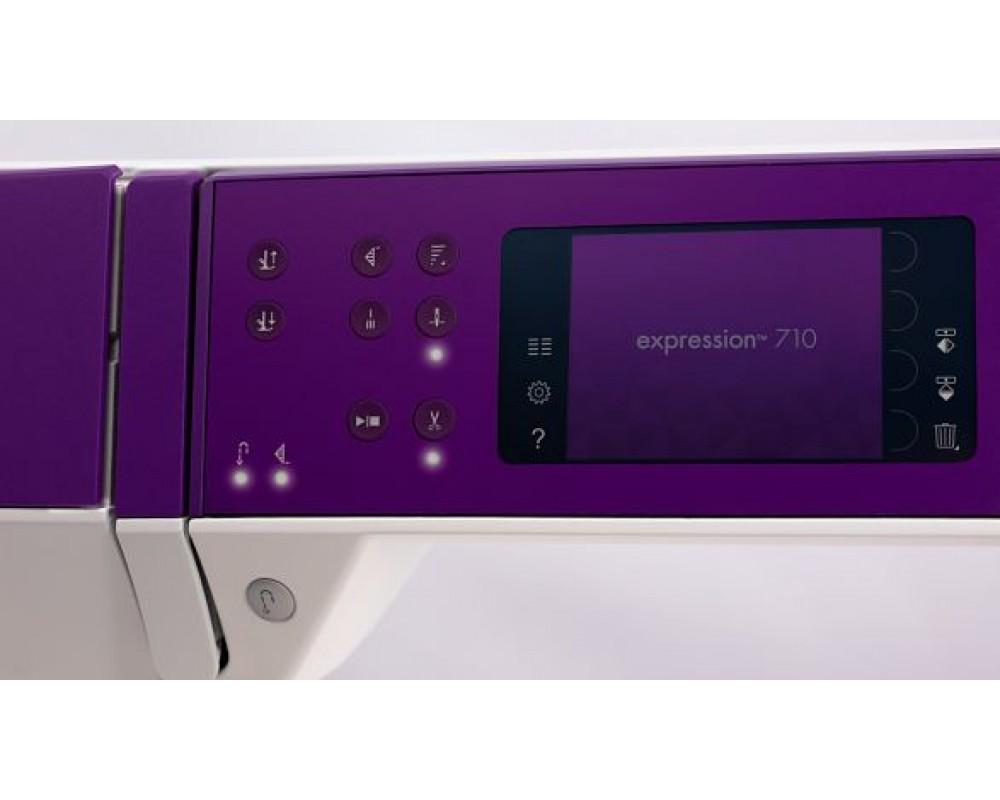 šicí stroj Pfaff Expression 710 + sada kvalitních jehel Organ a 3 roky záruka ¸-3